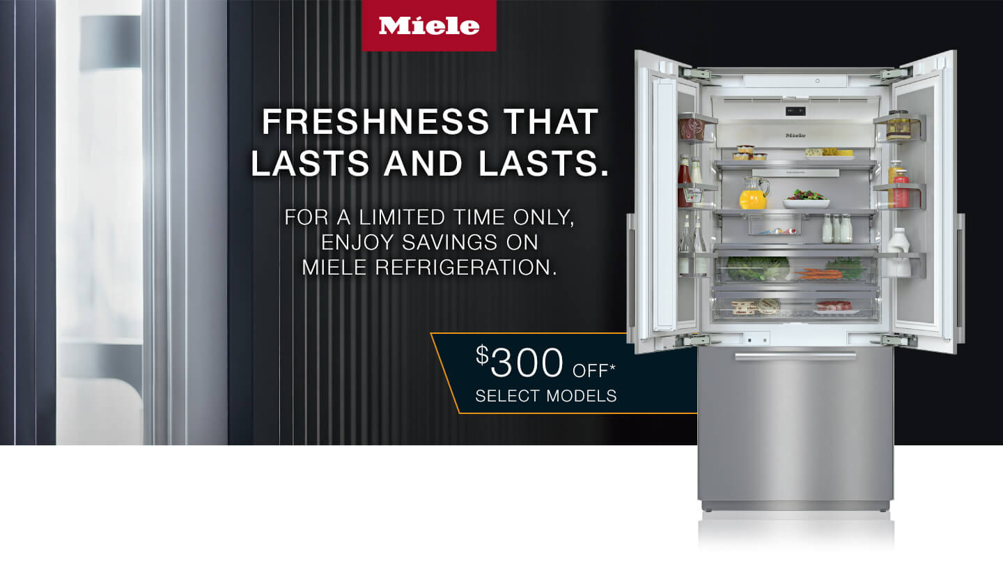 Save on Miele Now til June 20, 2021